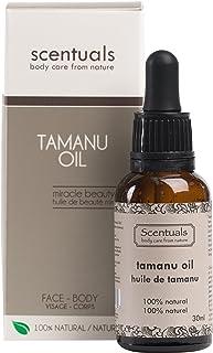 Scentuals Pure Tamanu Oil 100-Percent Natural Beauty Oil, 30 Milliliters