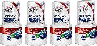 【まとめ買い】アース製薬 お部屋のスッキーリ! Sukki-ri! 消臭剤 無香料 400mL【×4個】