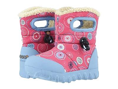 Bogs Kids B Moc Bullseye (Toddler/Little Kid) (Pink Multi) Girls Shoes