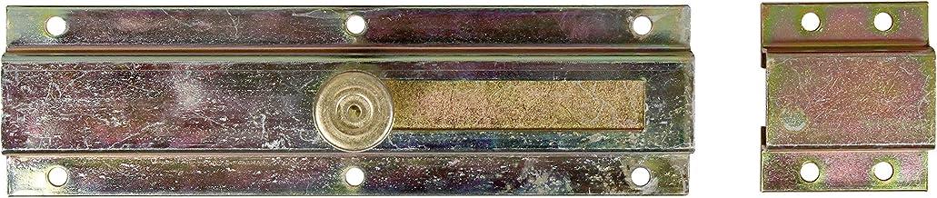 GAH-Alberts 111809 deurgrendel   met knopgreep, met lus   elektrolytisch geel verzinkt   200 x 57 mm