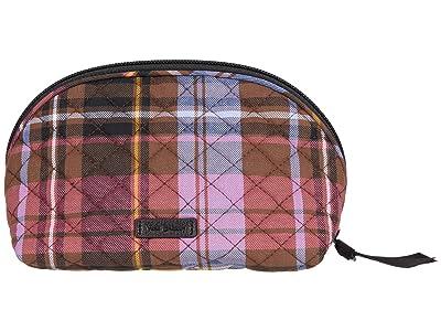 Vera Bradley Clamshell Cosmetic (Cozy Plaid) Handbags