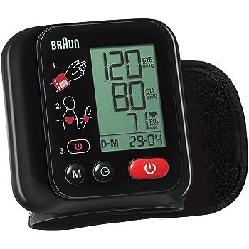 Braun VitalScan 3 BBP2200 Misuratore Automatico della Pressione Arteriosa da Polso, Nero, black