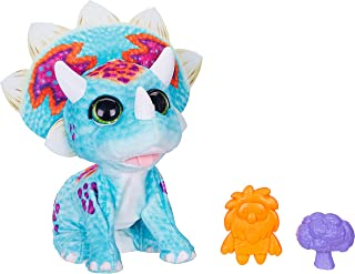 FurReal - Hoppin' Topper - Baby Dino - Interactive Plush Pet Toy - 35+ Sounds & Motion Combinations - Kids Toys - Ages 4+