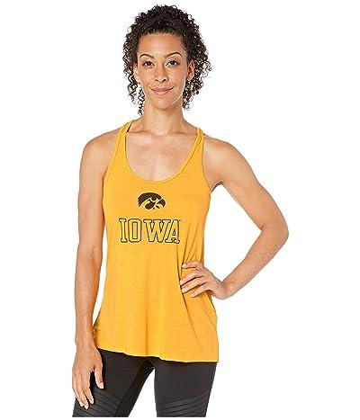 Champion College Iowa Hawkeyes Eco(r) Swing Tank Top (Champion Gold 2) Women