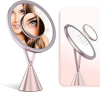 IKproductpro Makeup Mirror, Vanity Mirror, Makeup Vanity Mirror with Lights, 30 LED Makeup Mirror, 5X Magnification Mirror, Cosmetic Vanity Mirror