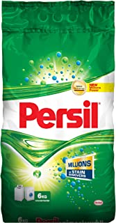 Persil Powder Front and Top Load Powder Detergent, 6 kg