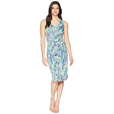 NIC+ZOE Mirage Twist Dress (Multi) Women