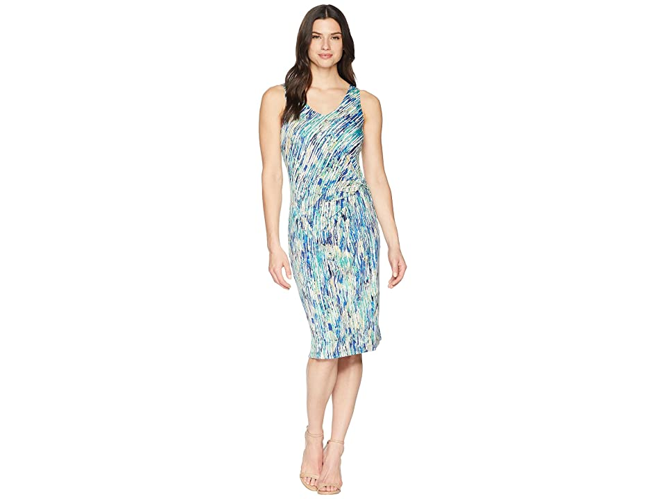 NIC+ZOE Mirage Twist Dress (Multi) Women