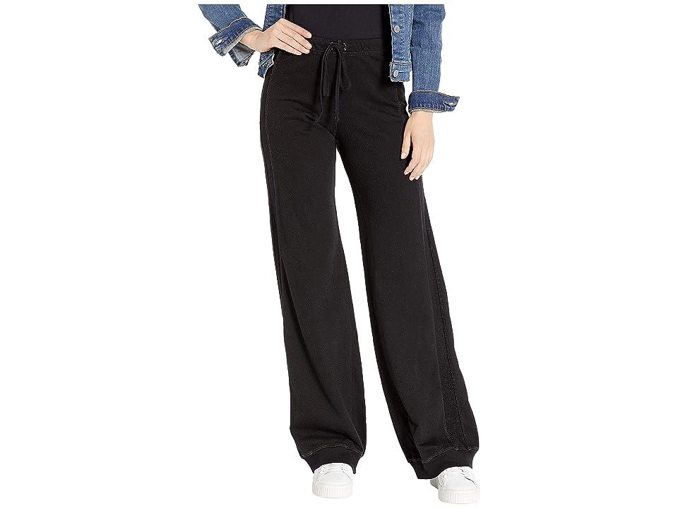 Hard Tail Reverse Stripe Sweatpants (Black) Women