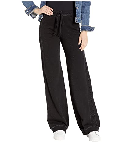 Hard Tail Reverse Stripe Sweatpants (Black) Women