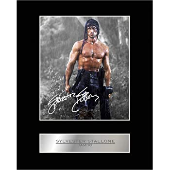 Sylvester Stallone Signed Mounted Photo Display Rocky IV #01 Autographed Gift Picture Print