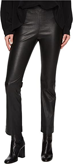 Vince - Leather Flare Pants