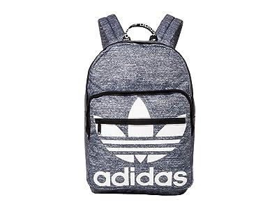adidas Originals Originals Trefoil Pocket Backpack (Onix Jersey/Black) Backpack Bags