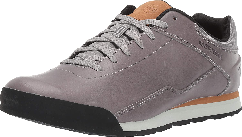 Sale Direct stock discount Special Price Merrell Men's Burnt Sneaker Leather Rocked
