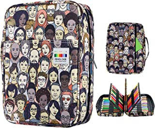 YOUSHARES Colored Pencils Case for 220 PCS Prismacolor Colored Pencils, Large Capacity Pen Case Organizer for Crayola Colo...