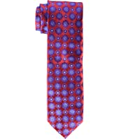 Canali - Woven Jacquard Circle Medallion Tie