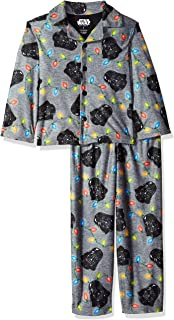 Boys' Darth Vader Holiday 2-Piece Pajama Coat Set