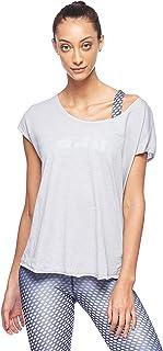 BodyTalk Women's Short-Sleeved T-Shirt, Grey (Light Grey), X-Large