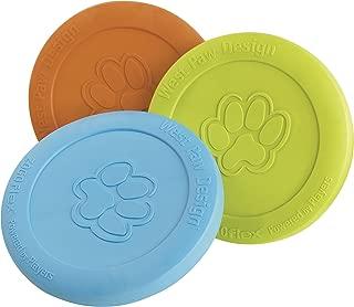 West Paw Design Zogoflex Dog Toy, Zisc, Colors Vary