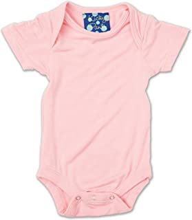 Kickee Pants Baby Girls' Short Sleeved One-piece, Lotus