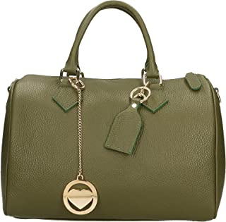 Chicca Borse Bag Borsa a Mano in Pelle Made in Italy 30x23x18 cm