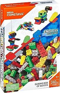 MEGA CONSTRUX DARING BOX OF BLOCKS - LARGE 240 PIECES