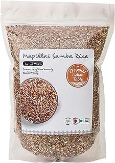 Original Indian Table Mapillai Samba Red Rice, 1.25Kg