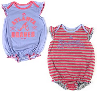 san francisco 532b6 22d29 Amazon.com: atlanta - Baby Girls / Baby: Clothing, Shoes ...