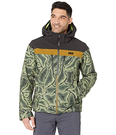 Helly Hansen Omega Jacket (Beluga Map Print) Men