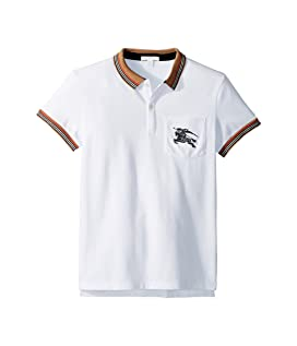 0158718f Burberry Kids Mini Jeff Polo (Infant/Toddler) at Luxury.Zappos.com