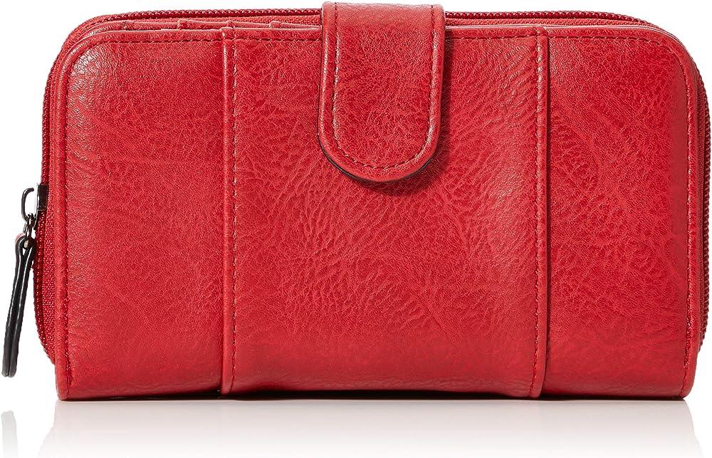 N.v. bags portafogli porta carte di credito in pelle sintetica per donna NV500