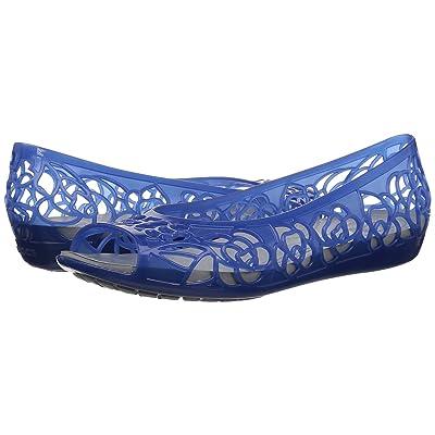 Crocs Crocs Isabella Jelly Flat (Blue Jean) Women