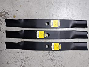 DMWD3501D Set of 3 Woods Finish Mower Lawn Blades Counter clockwise 72