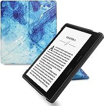 WALNEW Origami Funda para 7Pulgadas Kindle Oasis (Novena Generación–2017Release) de pie, con función automática de Encendido y Apagado