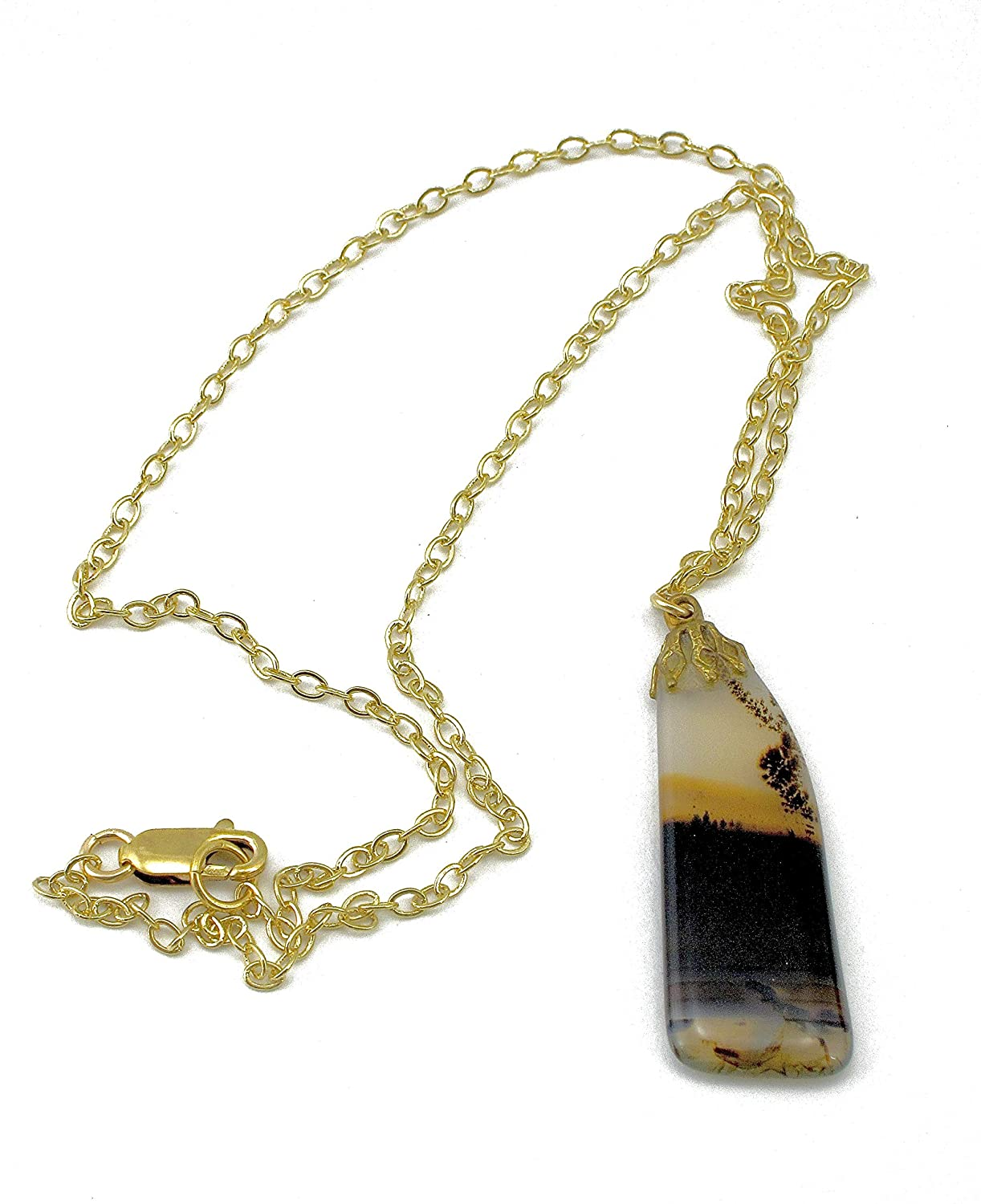 Antique Agate Pendant Necklace San Max 74% OFF Francisco Mall