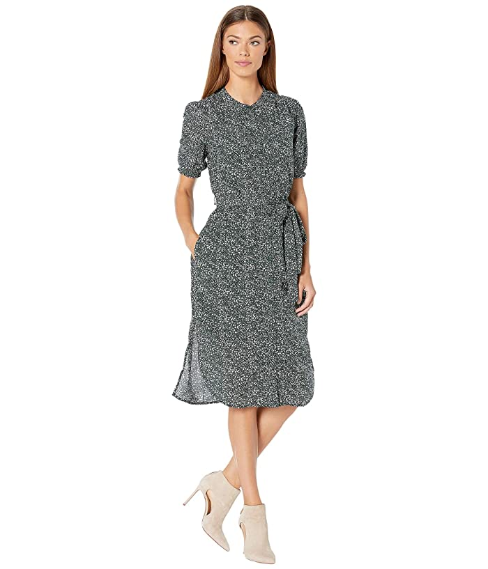 Lucky Brand  Dakota Dress (Green Multi) Womens Dress