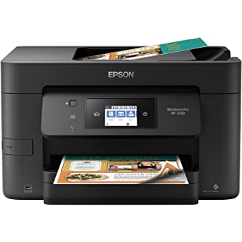Epson WorkForce Pro WF-3720 Wireless All-in-One Color Inkjet Printer, Copier, Scanner with Wi-Fi Direct, Amazon Dash Replenishment Ready