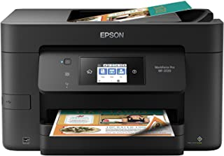 Epson WorkForce Pro WF-3720 Wireless All-in-One Color Inkjet Printer, Copier, Scanner with Wi-Fi Direct, Amazon Dash Reple...