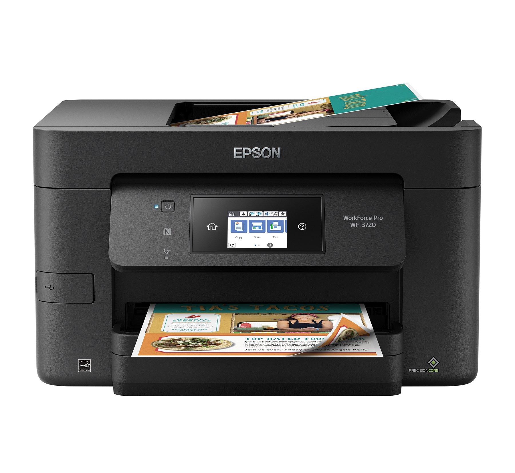 Epson Workforce WF 3720 Wireless Replenishment