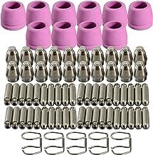 WSD-60P P60 Plasma Cutter Fakkel Piloot ARC Verbruiksartikelen KIT TIPS 1.0 50Amp 55 STKS