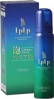 ルプルプ(LPLP) ルプルプ ヘアカラーフォーム ブラック 白髪染め ロースマリー/ラベンダー/オレンジ 80g