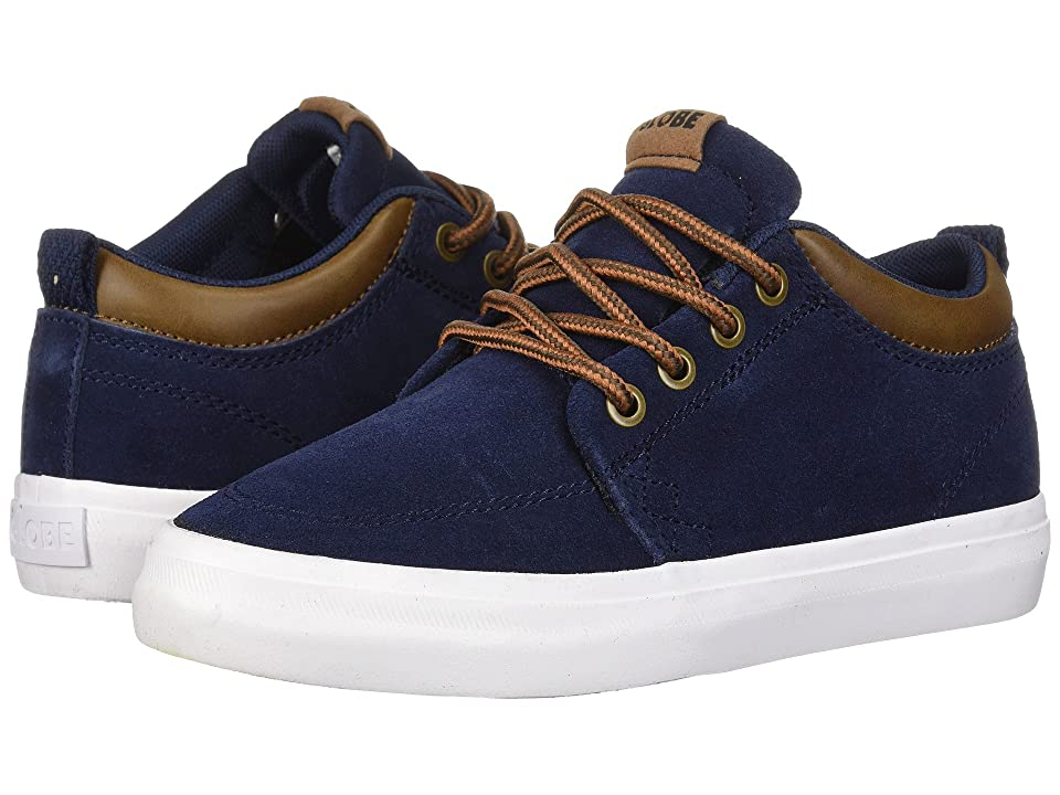 Globe GS Chukka (Little Kids/Big Kids) (Navy Suede) Men