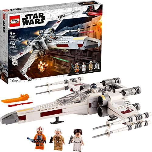 LEGO Star Wars Luke Skywalker's X-Wing Fighter 75301 Awesome Toy Building Kit for Kids New 2021 (474 Pieces)