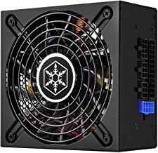 SilverStone Technology 500W SFX-L Form Factor 80 Plus Gold Full Modular Lengthened Power Supply with +12V Single Rail, Act...