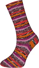 King Cole Zig Zag 4 Ply Superwash Knitting Wool & Nylon 100g Ball Craft Sock Yarn (Wicked - 1863)