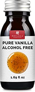 Pure Alcohol Free Vanilla Flavor - Award-Winning Heilala Vanilla, Perfect for Uncooked & Healthy Recipes, Hand-Picked, Ethically Sourced Vanilla Pods from Polynesia, 1.69 fl oz