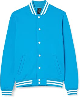 Urban Classics Men's College Sweatjacket Jacket