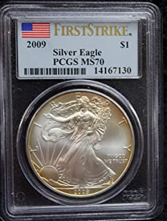2009 America Silver Eagle First Strike $1 MS70 - The Perfect Coin - PCGS