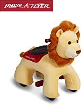 Radio Flyer Rory Electric Ride-On Lion with Sounds, Yellow (Amazon Exclusive)
