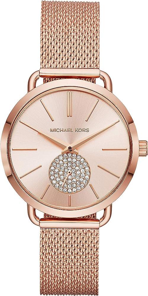 Michael kors orologio analogico  donna in acciaio inossidabile MK3845